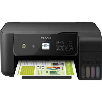 Multifunción Recargable Color Epson Ecotank ET-2720 WiFi/ Negra