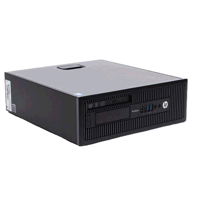 PC SFF HP PRODESK 600 G1 OCASION / I3-4130 GHZ /4GB /500GB /DVD /WIN 7 PRO