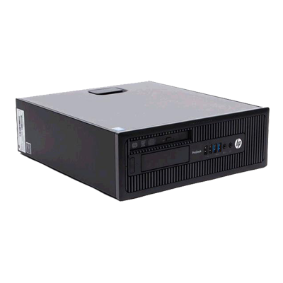 PC SFF HP PRODESK 600 G1 OCASION / I3-4160 3.6GHZ /8GB /500GB /DVD /WIN 8 PRO
